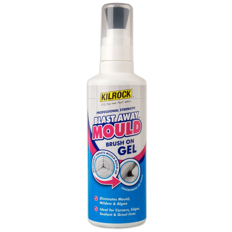 Compare prices for Kilrock Blast Away Mould Remover Brush-On Gel - 250ml