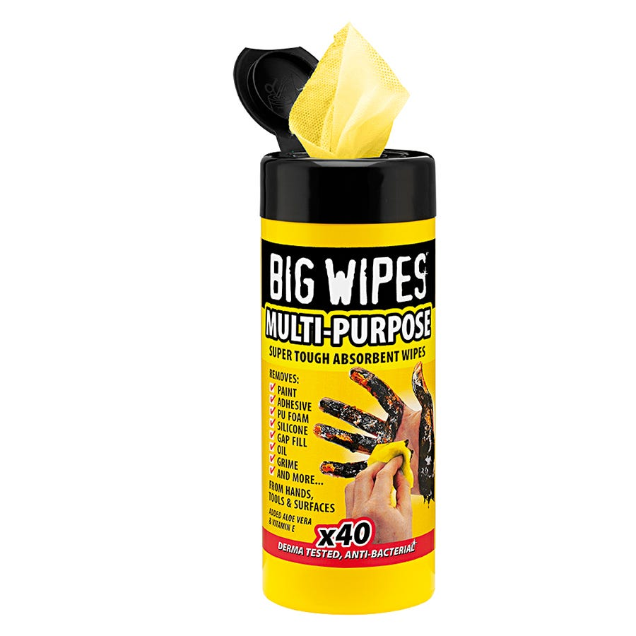 Image of Big Wipes Multi-Purpose Wipes – Pack of 40