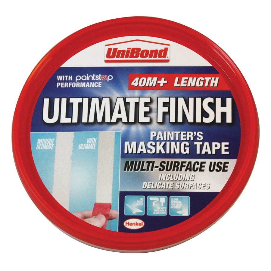 Image of Unibond Ultimate Finish Masking Tape – 40m