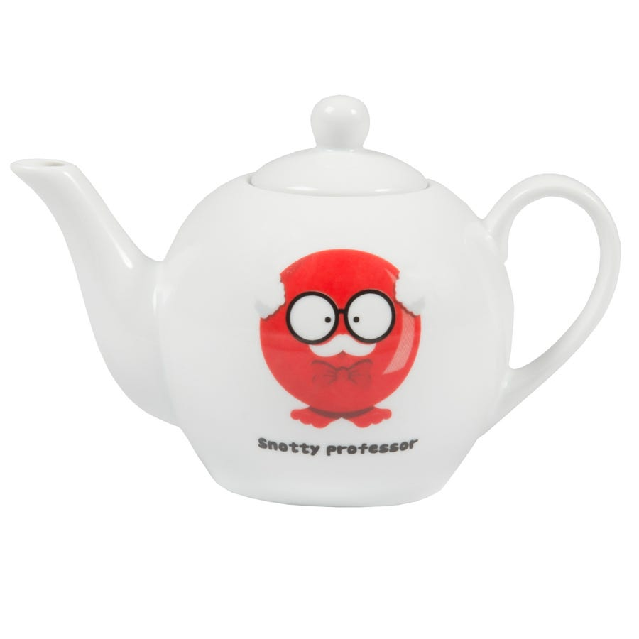 Image of Red Nose Day Snotty Professor Teapot