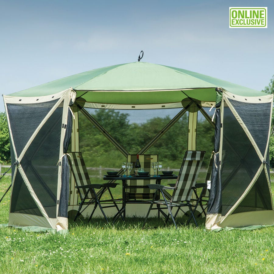 Image of Quest Elite 6-Person Instant Spring-Up Screen House