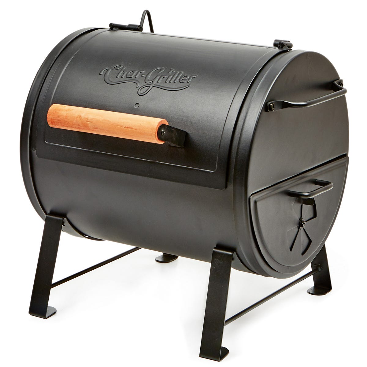 Char-Griller Table Top Grill and Side Fire Box