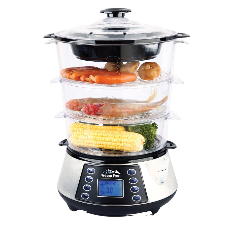 Compare prices for Heaven Fresh NaturoPure Digital Food Steamer