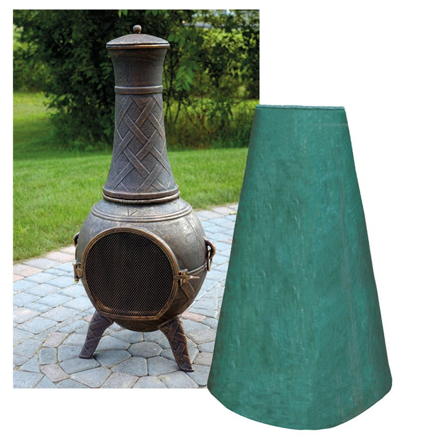 Image of Garland Chiminea Cover Large Woven Plastic - 61cm Diameter