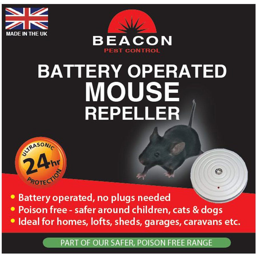 Image of Rentokil Battery Operated Mouse Repeller