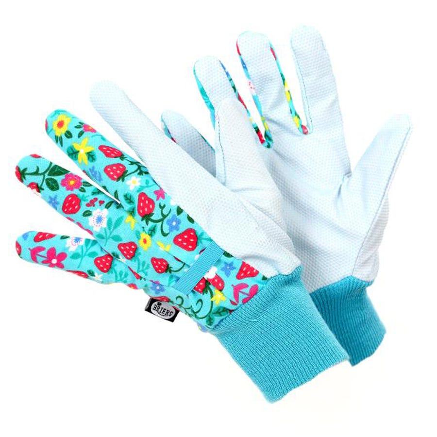 Compare prices for Briers Strawberry Water Resistant Gardening Gloves