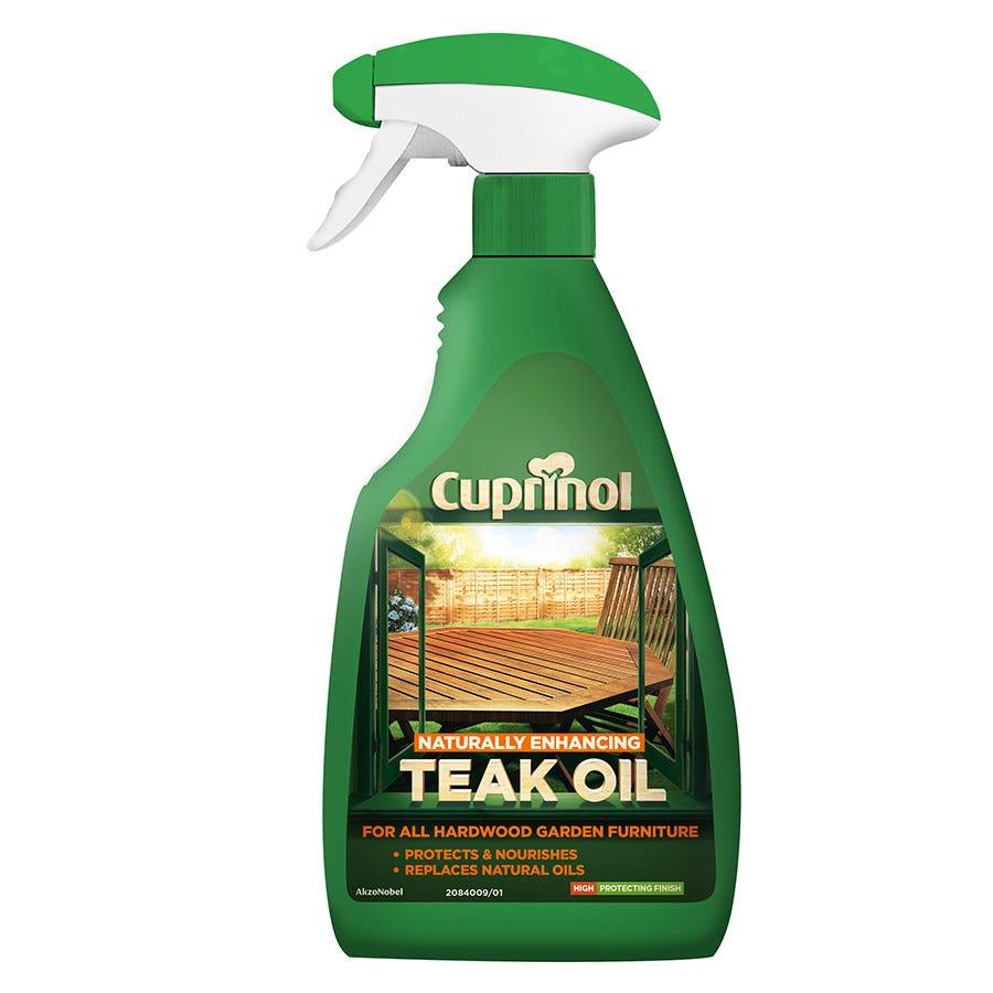 Compare prices for Cuprinol Hardwood Teak Oil Spray - 500ml