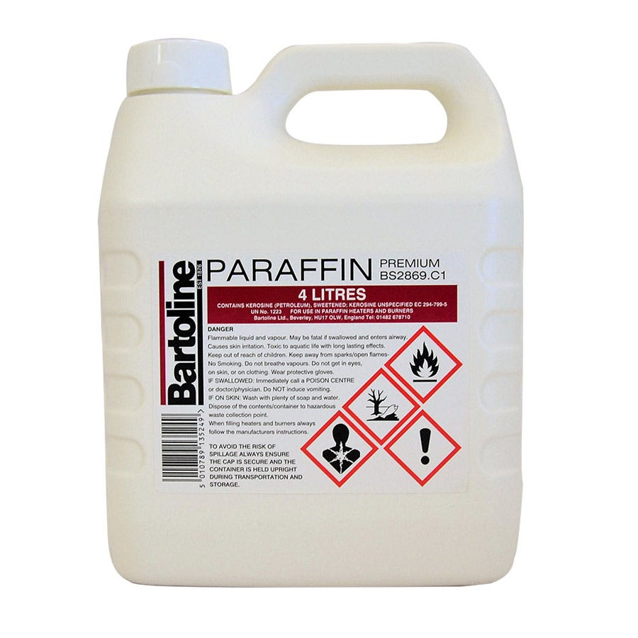 Compare prices for Bartoline Premium Paraffin 4 Litre - Dont sell online