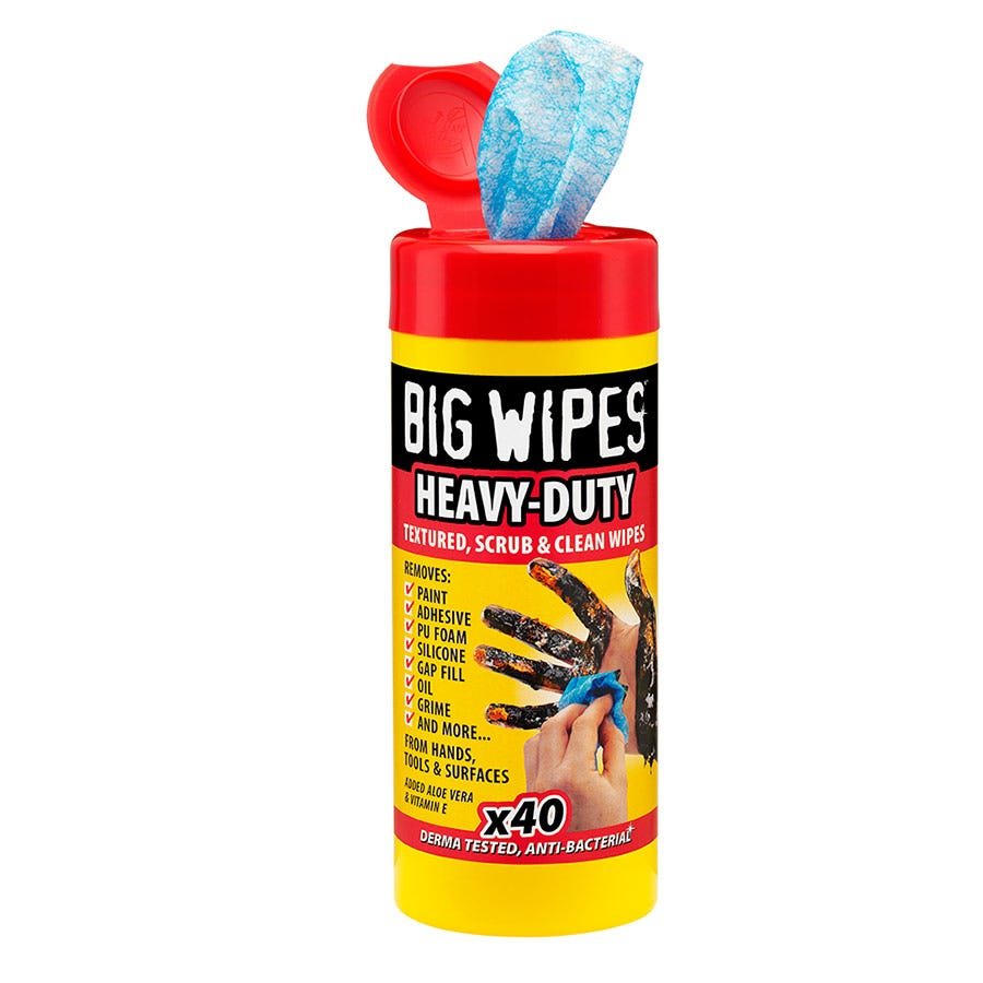 Image of Big Wipes Heavy Duty Wipes – Pack of 40