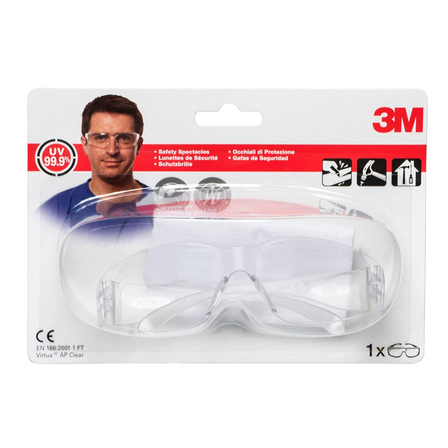 3m Clear Impact Safety Goggles