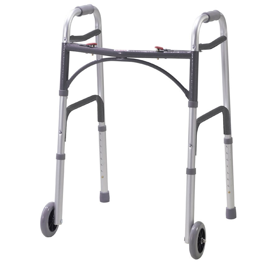 Compare prices for Drive Folding Walking Frame - Silver