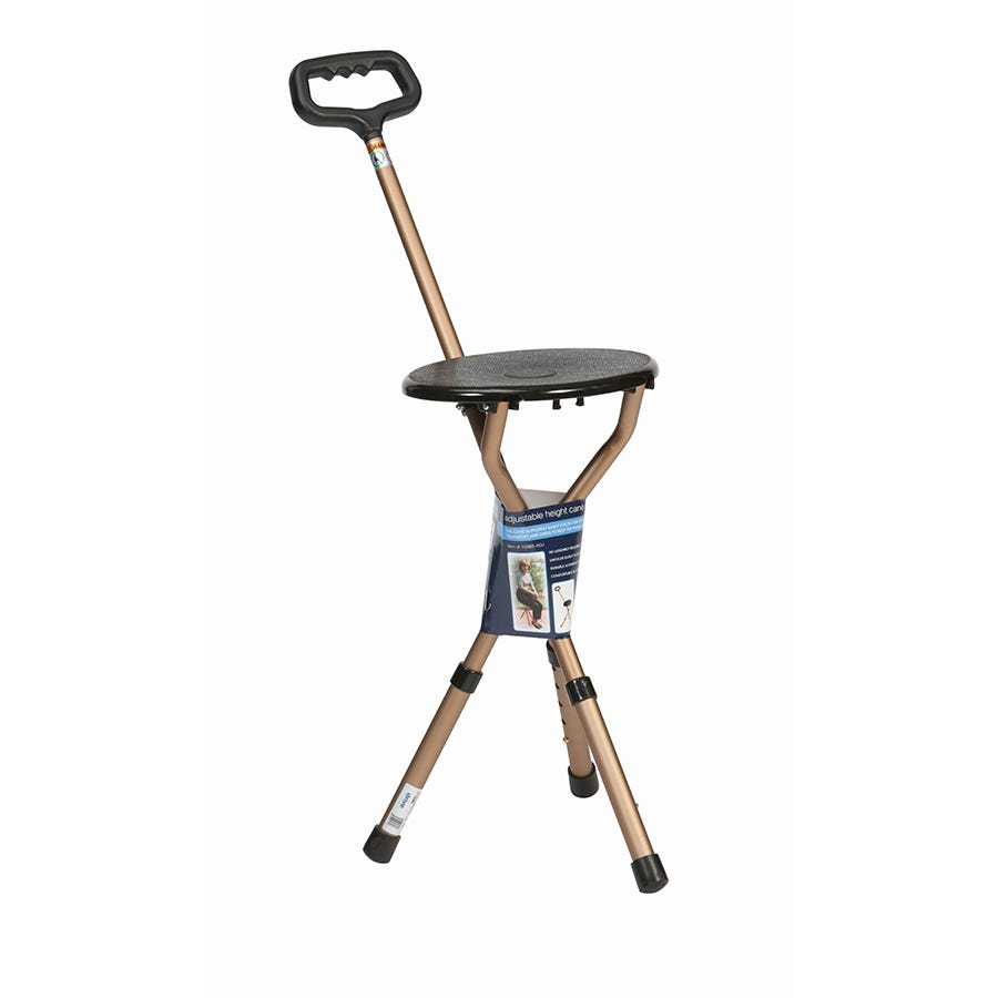 Compare prices for Drive Adjustable Folding Cane Seat