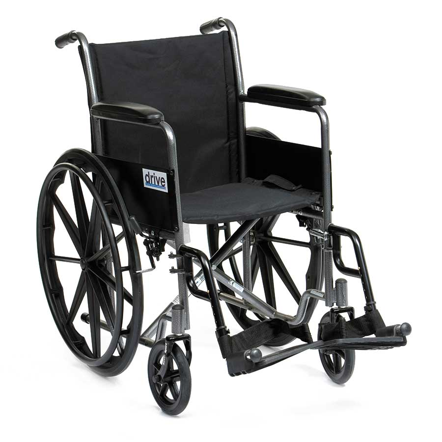 Compare prices for Drive Silver Sport Self Propel Wheelchair