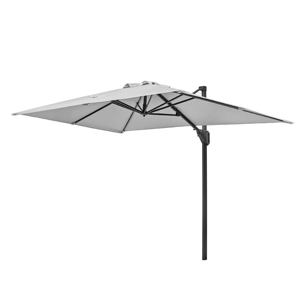 Platinum Voyager T1 3 x 2m Parasol (base not included) - Light Grey