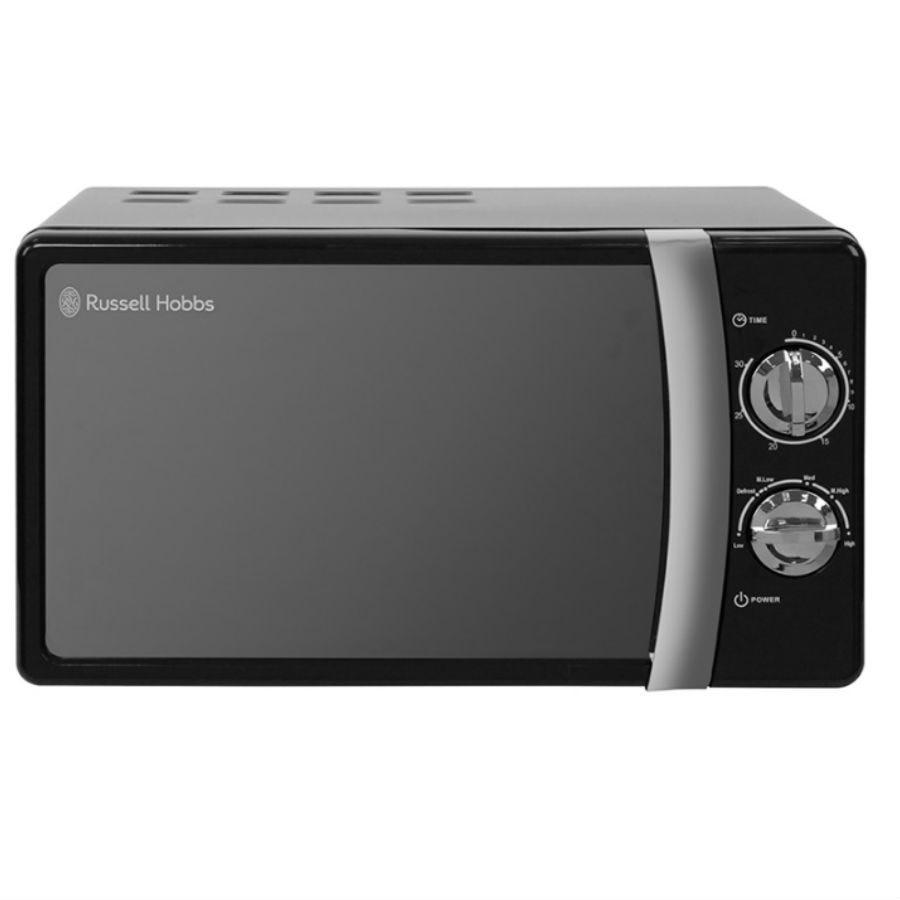 Russell Hobbs RHMM701B 700W 17L Manual Microwave - Jet Black