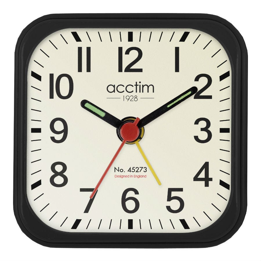 Compare cheap offers & prices of Acctim Maldon Mini Alarm Clock manufactured by Acctim