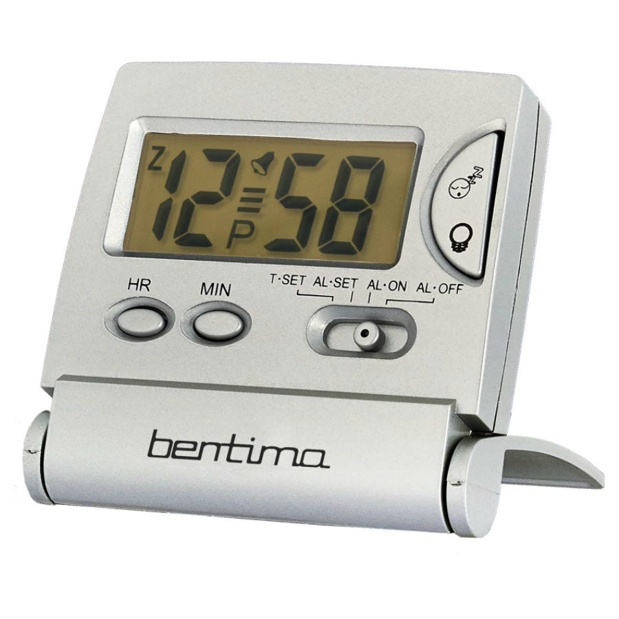 Compare cheap offers & prices of Acctim Mini LCD Flip Alarm Clock manufactured by Acctim
