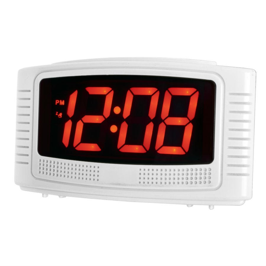Compare retail prices of Acctim Vian LCD Alarm Clock to get the best deal online