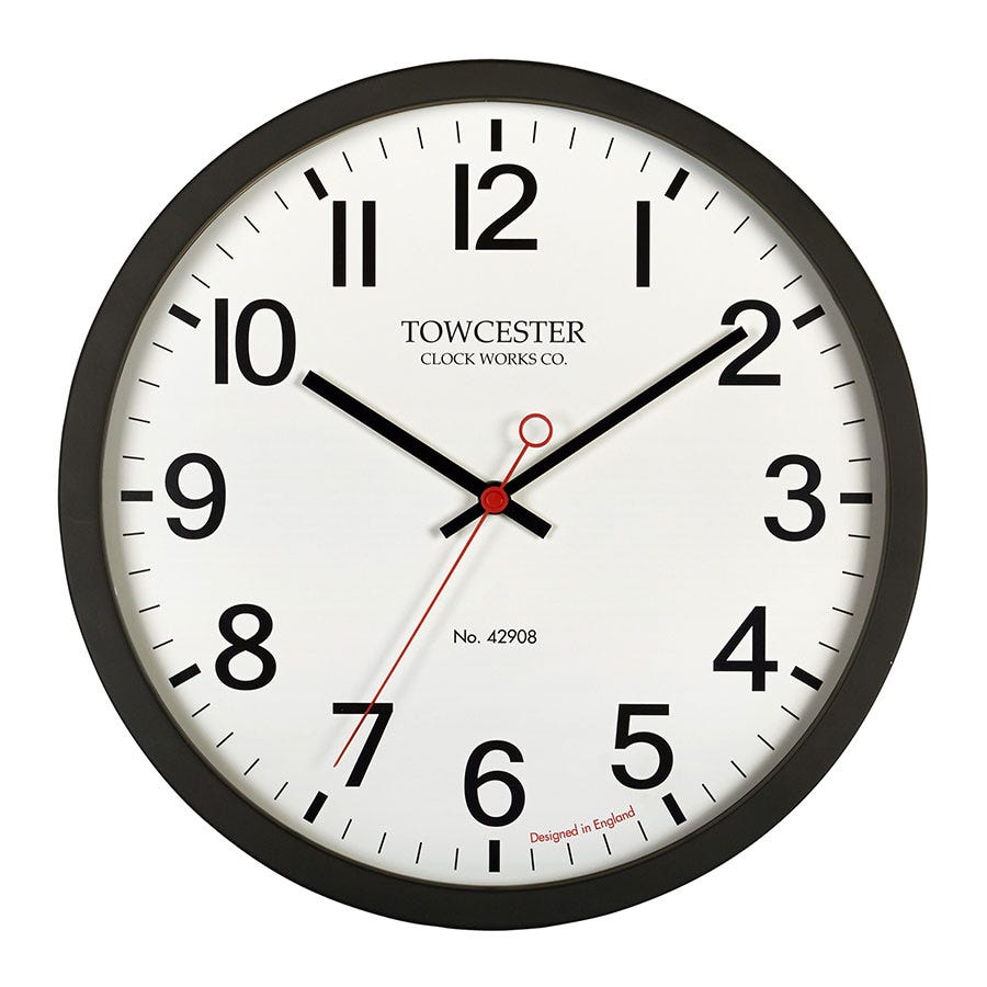 Compare prices for Acctim Kempston Black Wall Clock