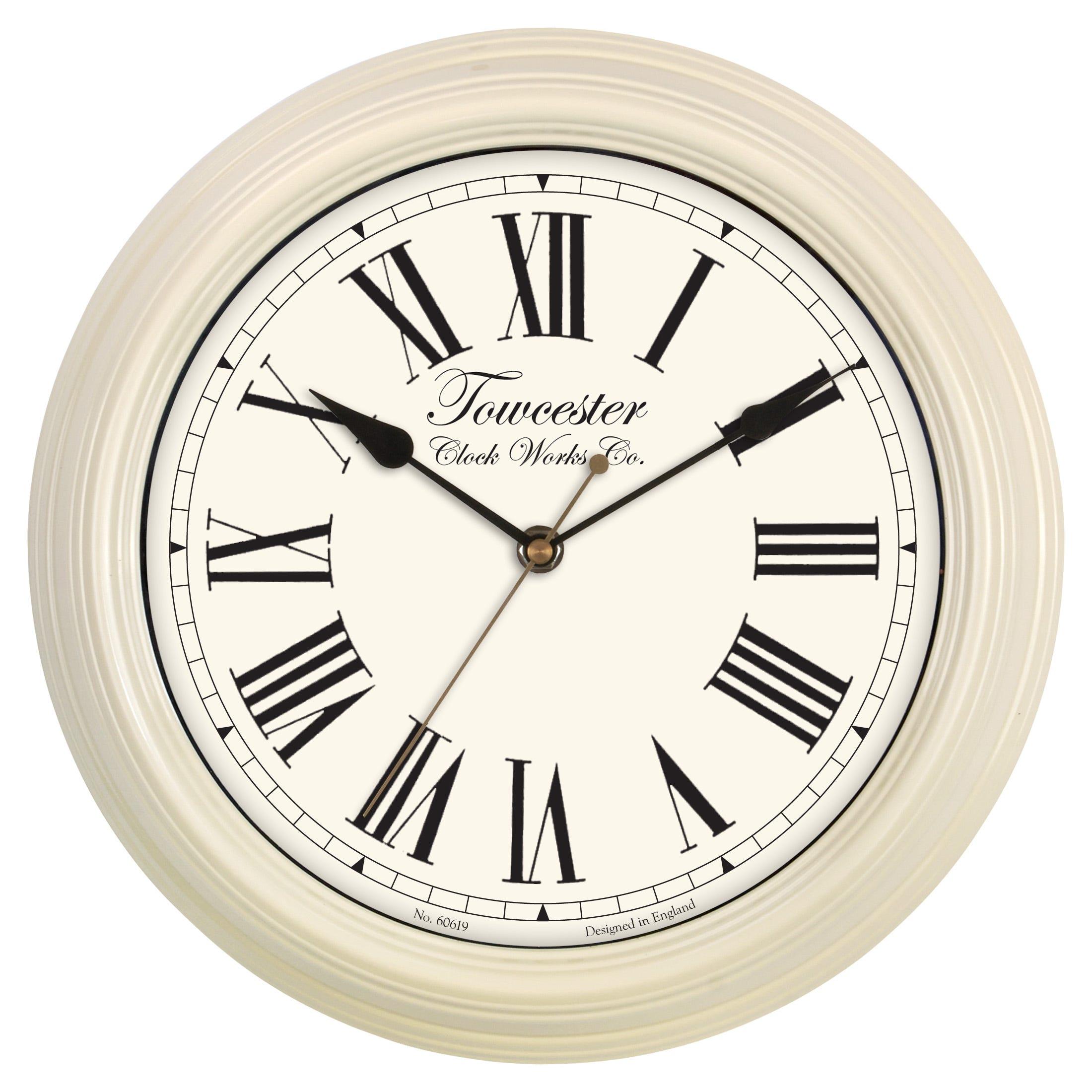 Acctim Redbourn 30cm Cream Wall Clock