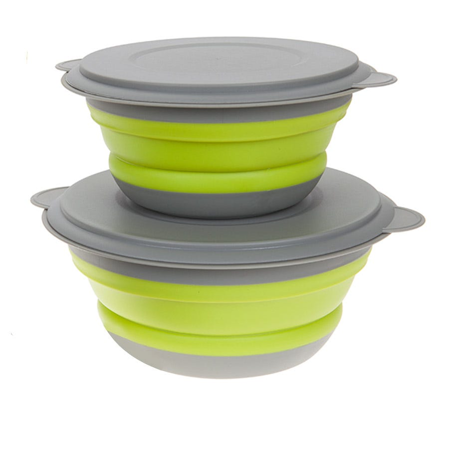 Compare cheap offers & prices of Summit 3-Piece Space Saving Bowl Set with Lids manufactured by Summit