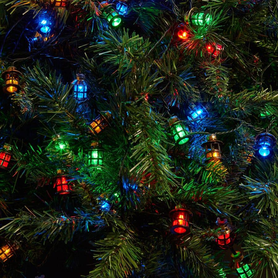 Robert Dyas 80 Lantern Christmas Indoor & Outdoor Lights