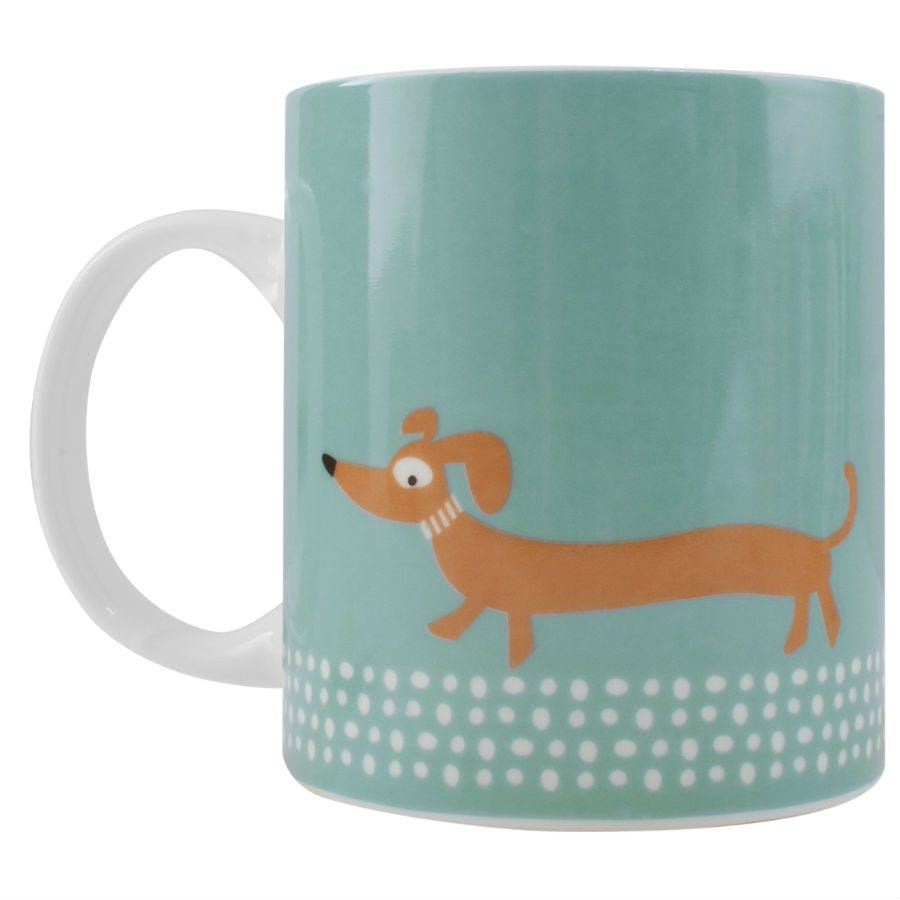 Compare prices for Alfred Franks and Bartlett Scandi Sausage Dog Mug