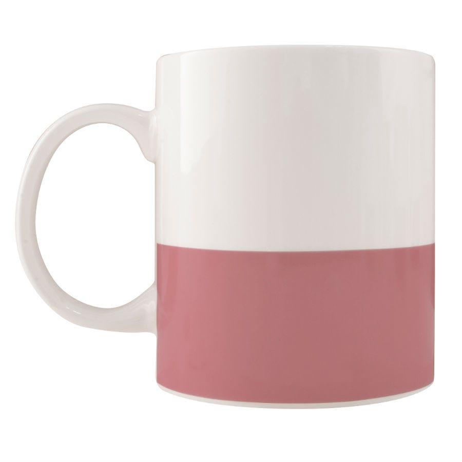 Robert Dyas/Home Interiors/Kitchen/Colour Block Mug – Pink