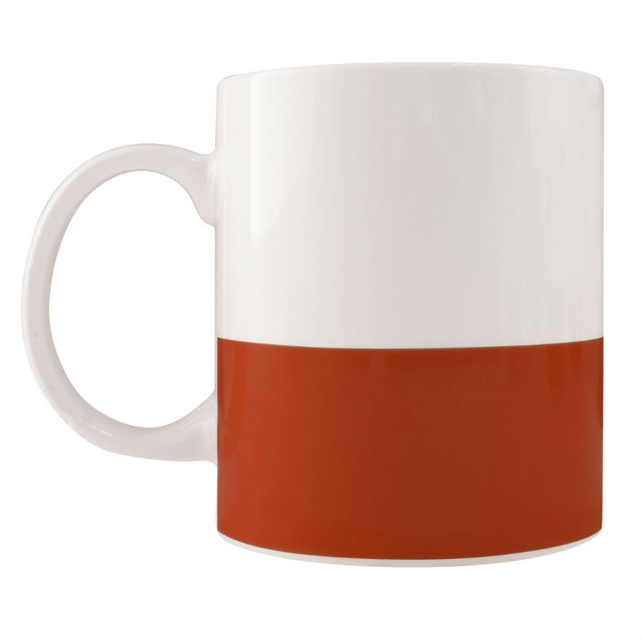 Robert Dyas/Home Interiors/Kitchen/Colour Block Mug – Red