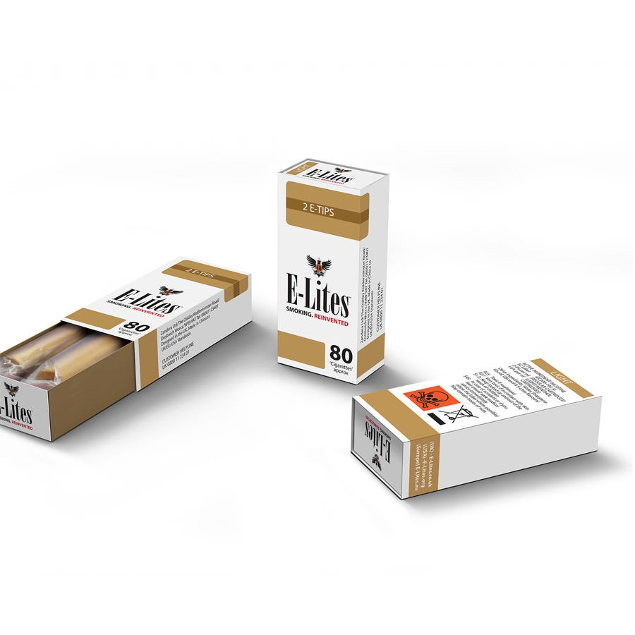Compare cheap offers & prices of Elite E-Lites E-Tip Light Electronic Cigarettes - Pack of 2 - Regular manufactured by Elite