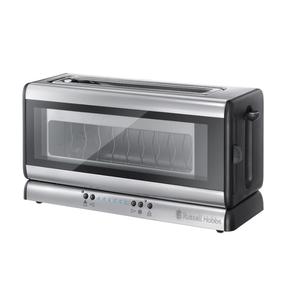 Russell Hobbs Clarity 2-Slice Glass Toaster