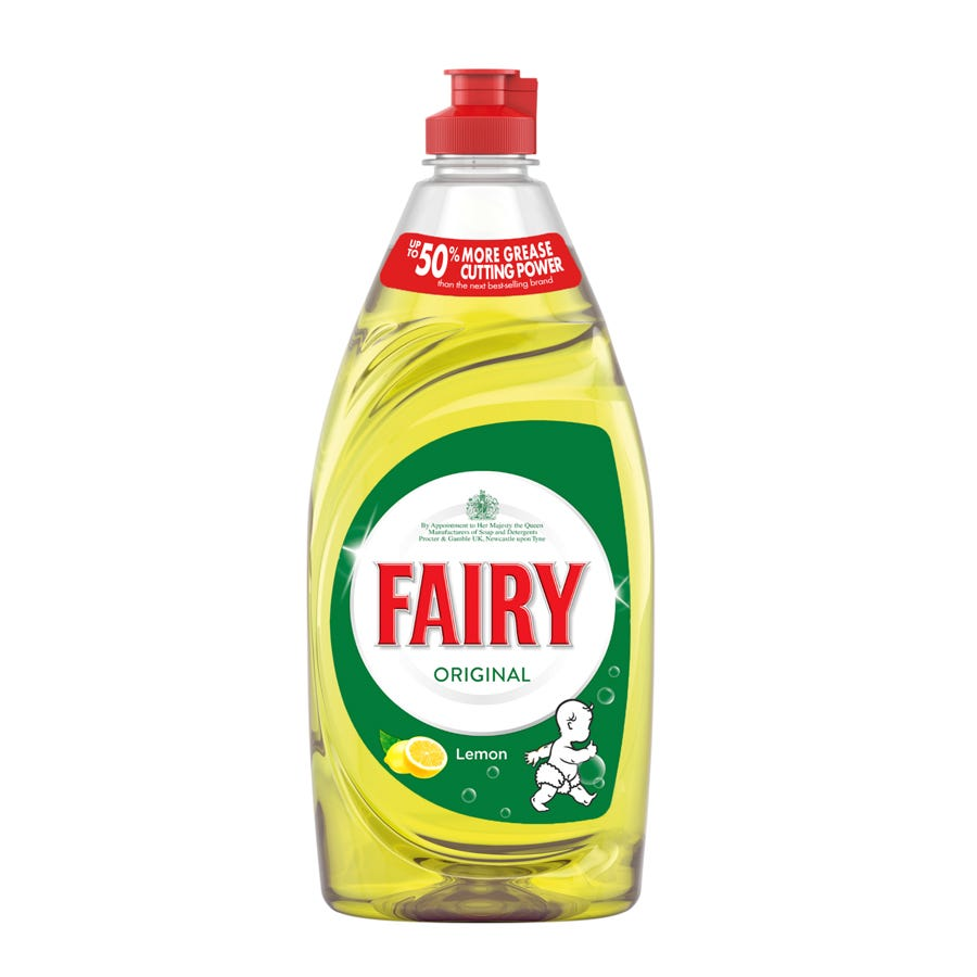 Compare prices for Fairy Lemon Washing Up Liquid - 500ml