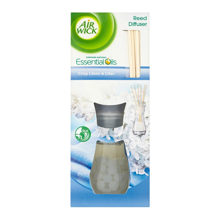 Image of Airwick Linen & Lilac Reed Diffuser