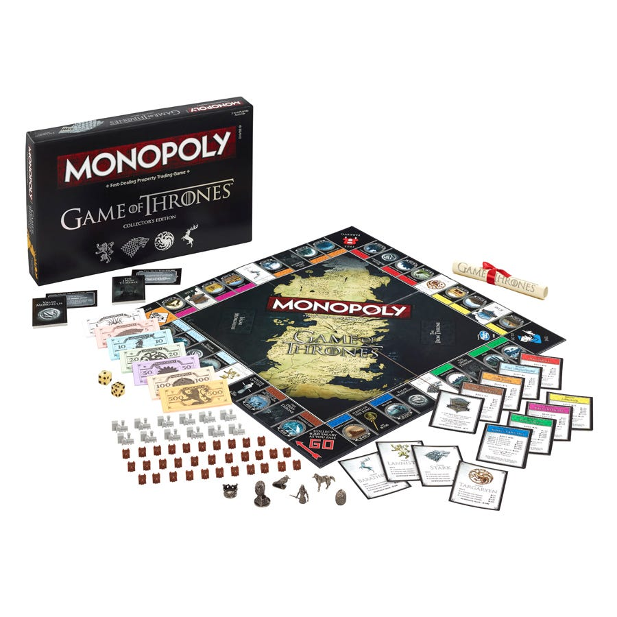 Compare prices for Monopoly Game of Thrones Edition