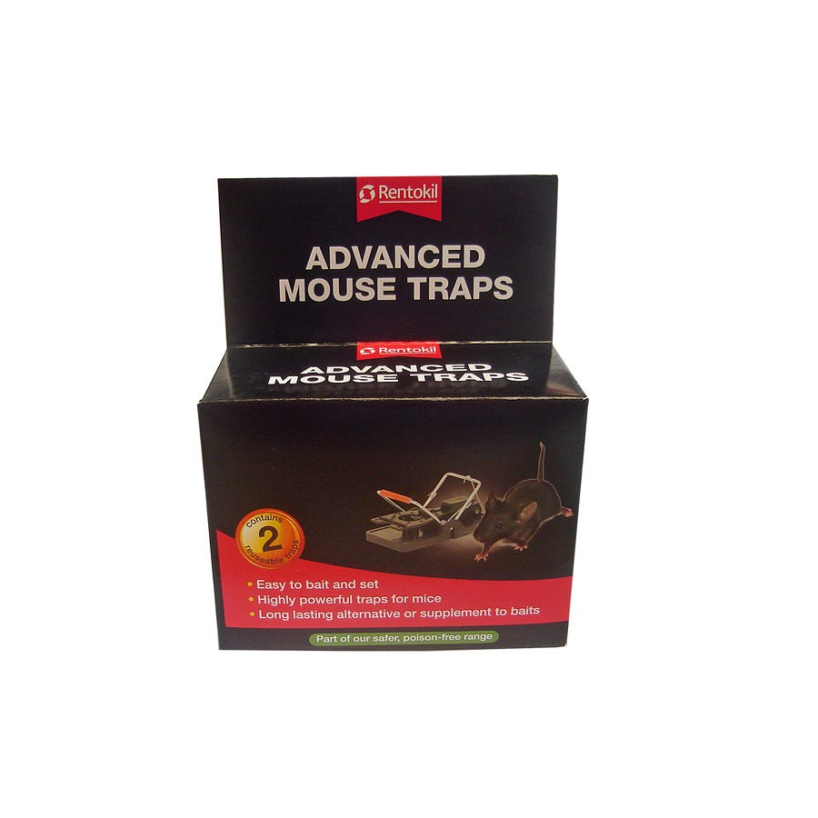 Image of Rentokil Advanced Mouse Traps – Pack of 2