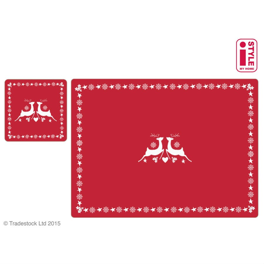 Image of Enchanted Forest Placemats and Coasters – Set of 4