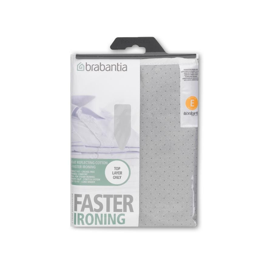 Compare retail prices of Brabantia 135 x 49cm Metallised Ironing Board Cover to get the best deal online