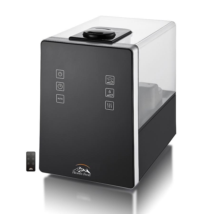 Image of Heaven Fresh Cool & Warm Mist Digital Humidifier – Black