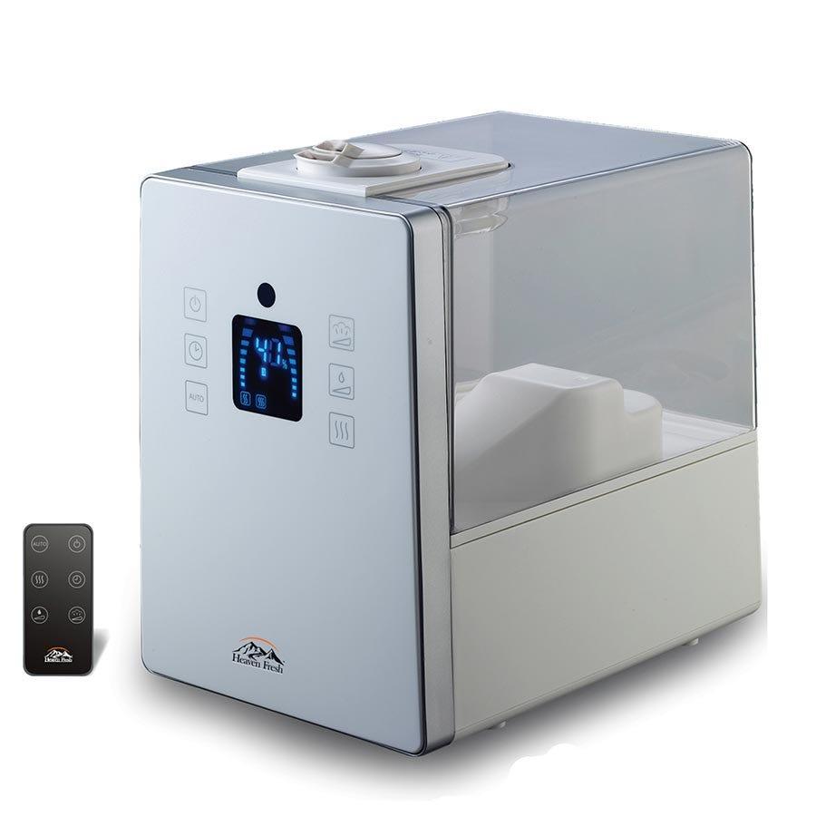 Image of Heaven Fresh Cool & Warm Mist Digital Humidifier – White