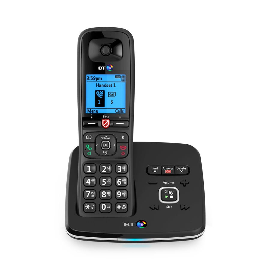 BT 6610 Cordless Telephone with Answering Machine - Single