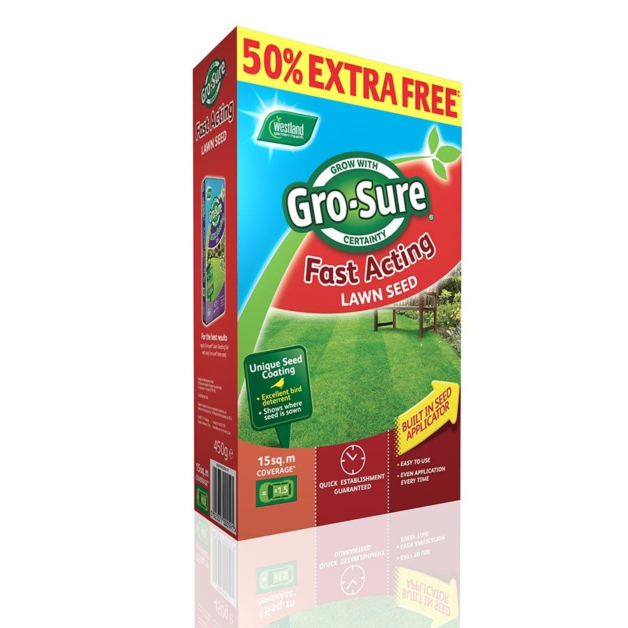 Image of Gro-Sure Fast Acting Lawn Seed