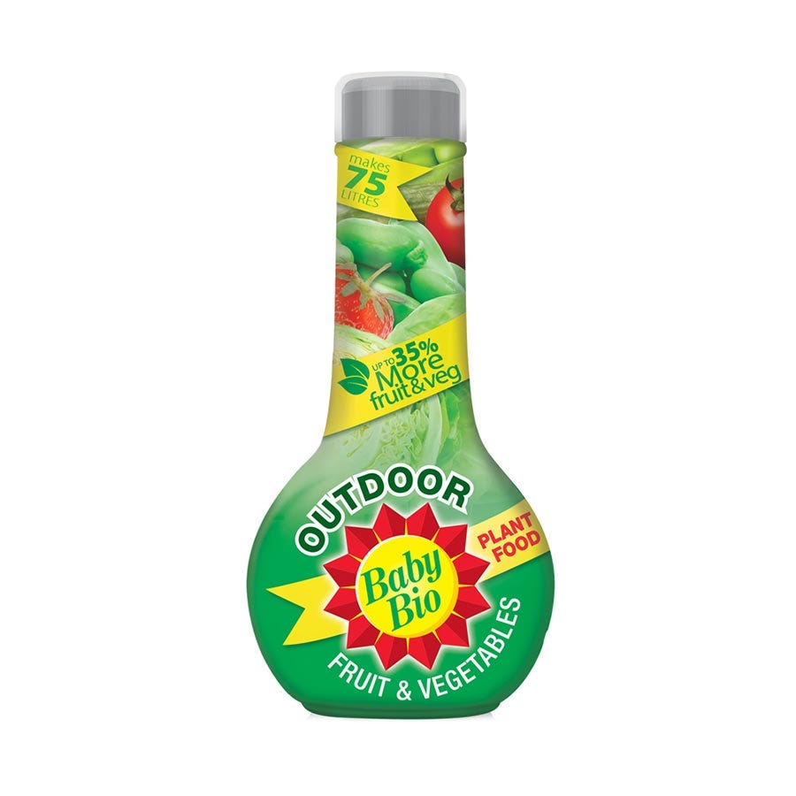 Baby Bio Concentrated Outdoor Vegetable Food 750ml