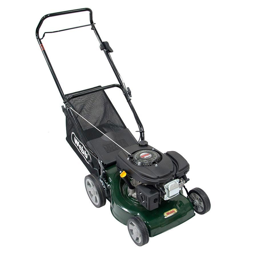 Compare prices for Webb WER41HP 118cc Petrol Push Lawnmower