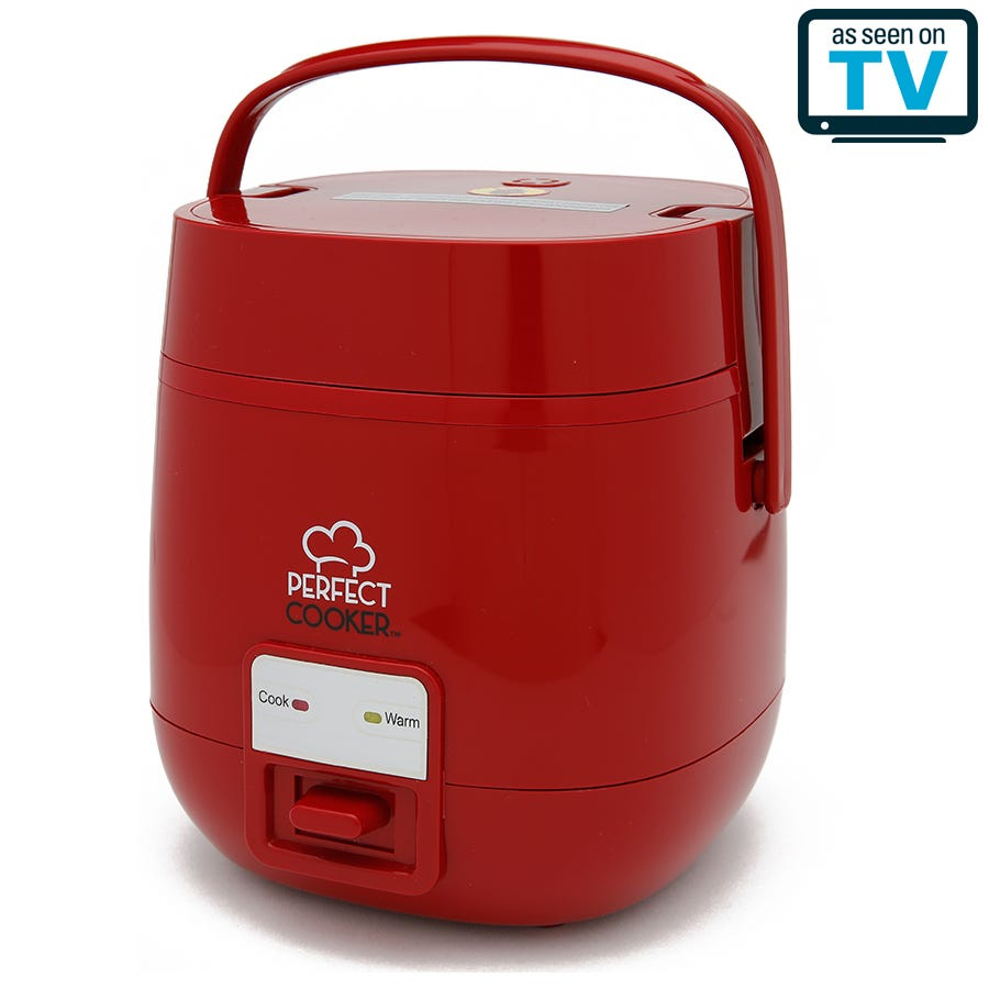 Image of Perfect Cooker One Touch Portable Multi-Cooker – Red