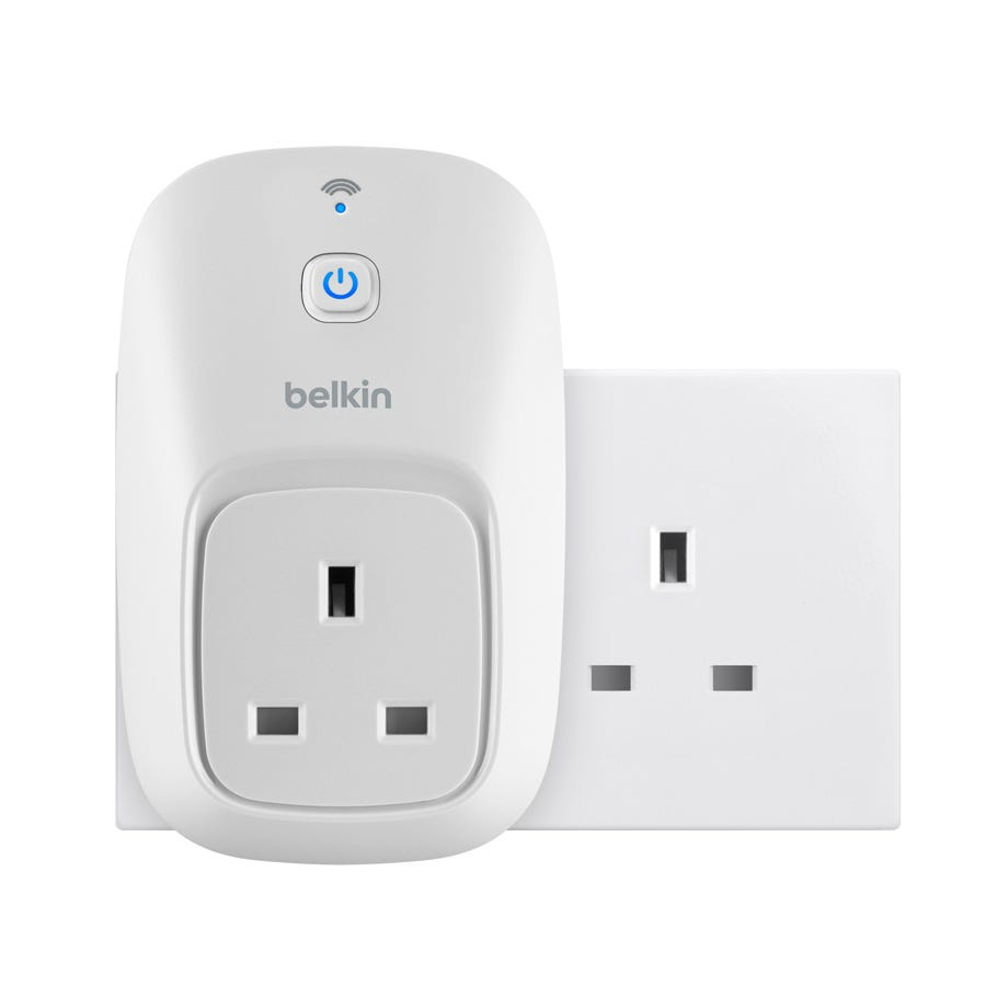 Compare cheap offers & prices of Belkin WeMo Switch Smart Device Controlled Plug manufactured by Belkin WeMo