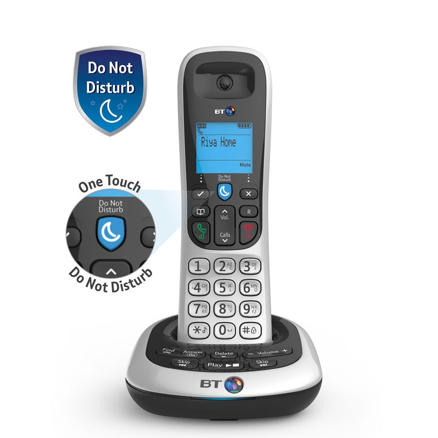BT 2600 Cordless Telephone with Answering Machine - Single
