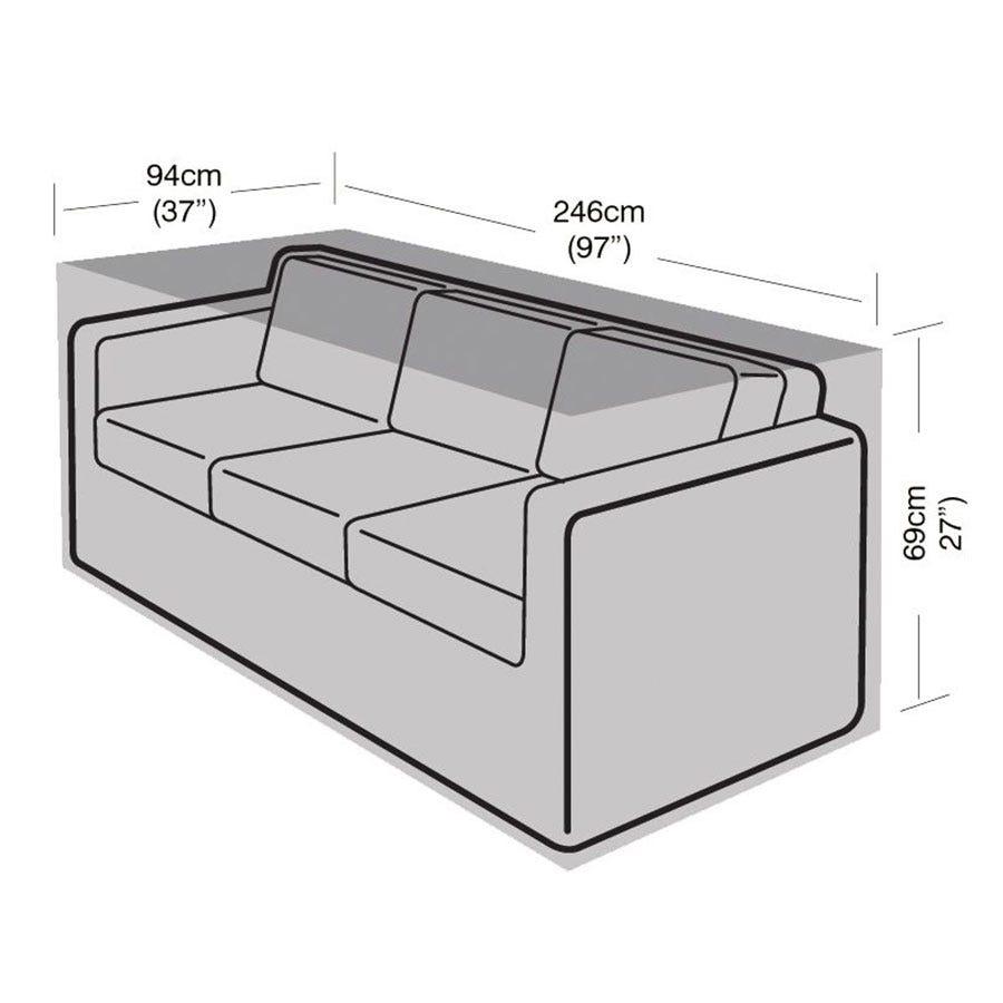 Garland 3-Seater Garden Sofa Cover