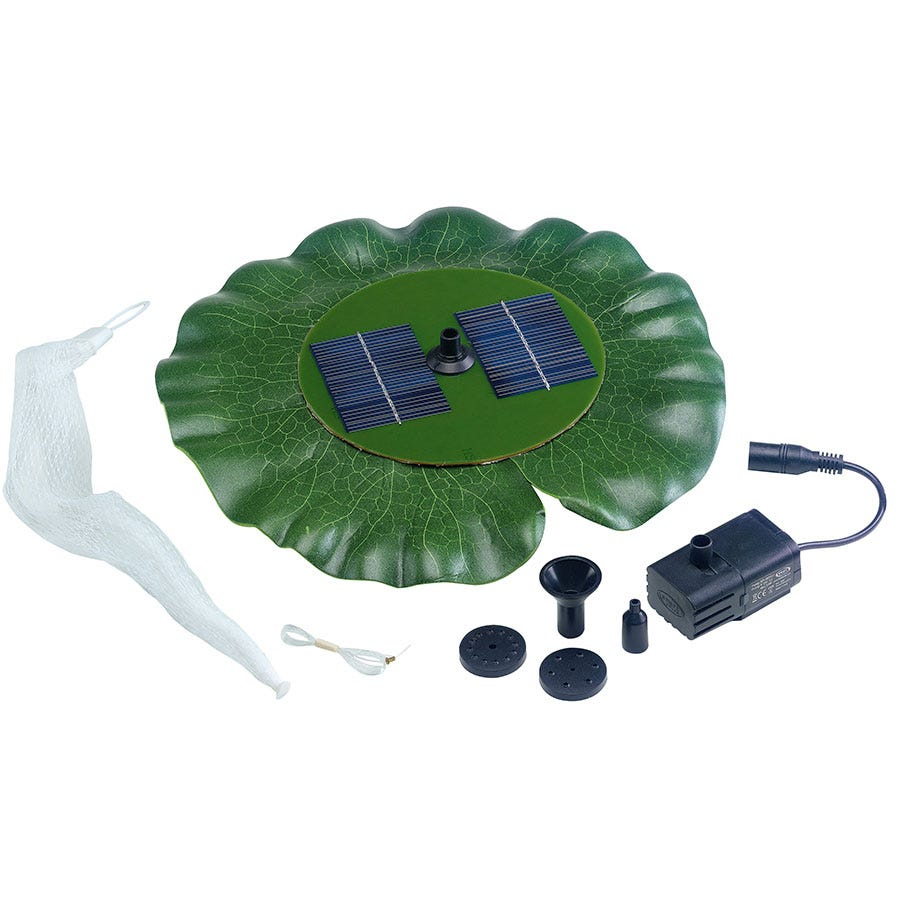 Image of Lily Pad Solar Water Feature