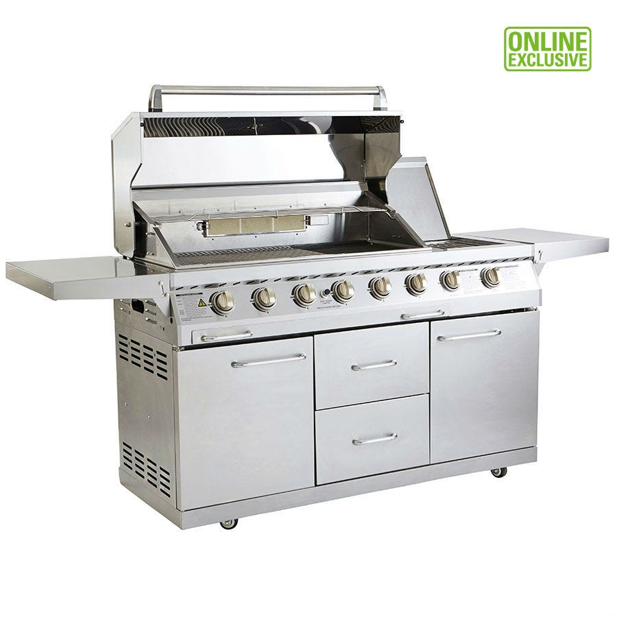 Image of Outback Signature 6-Burner Gas BBQ with Rotisserie