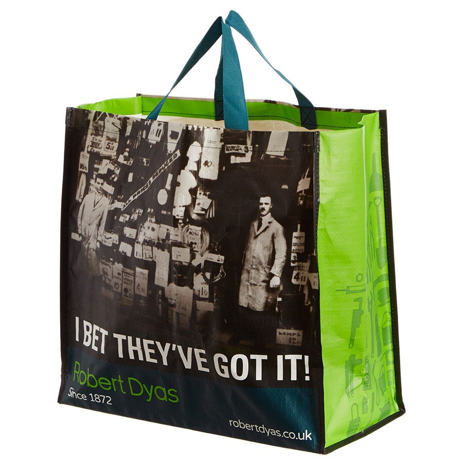 Compare cheap offers & prices of Robert Dyas Woven Shopping Bag manufactured by Robert Dyas